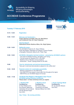 View the conference programme