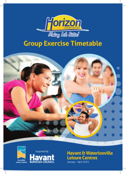Download - Horizon Leisure Centres