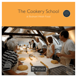 The Cookery School - Bodnant Welsh Food