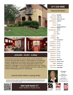 $340,000 - 4/3.0/2 - 3,306sf 4800 SAM BASS CT