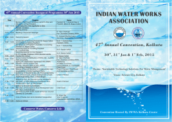 INDIAN WATER WORKS ASSOCIATION