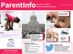 parent info jan 30 - Newport Independent Schools