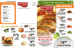 Weekly Specials - McGinnis Sisters