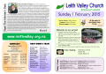 Sunday 1 February - Leith Valley Presbyterian Church