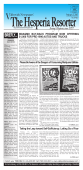 the hesperia resorter - Valleywide Newspapers
