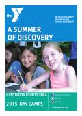 Camp Brochure 2015 - Hunterdon County YMCA