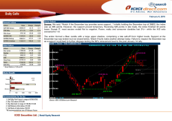 Daily Calls - ICICI Direct