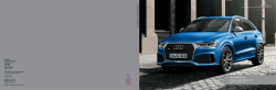 The Audi RS Q3 Pricing and Specification Guide
