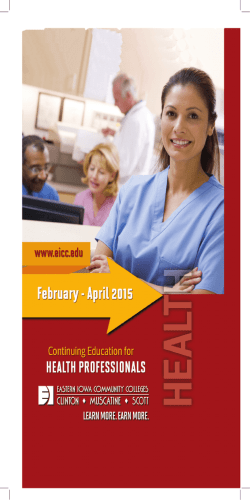 CE #3 Health Book 12-3-14.indd - Eastern Iowa Community Colleges