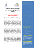 Workshop on Flow Cytometry Experimental Designing