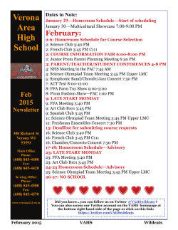 February 2015 Newsletter now available