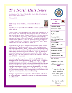 The North Hills News - The PTA at PS 221, The North Hills School, a