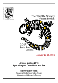 Conference Program - The Western Section of The Wildlife Society