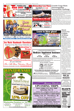 WOOD STOVE CHANGEOUT SALE - The Monadnock Shopper News