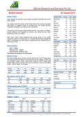 Market Outlook - 28.1.2015 - EQLine Research and Services Pvt Ltd