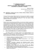 No. 21020/6/2014-Academy Desk GOVERNMENT OF