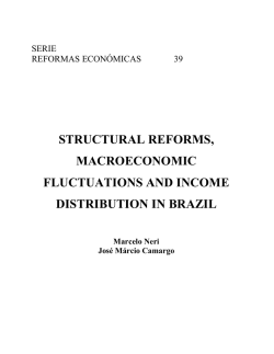 Structural reforms, macroeconomic fluctuations and income