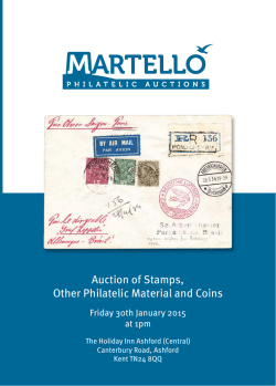 Next Auction Catalogue Click to download PDF