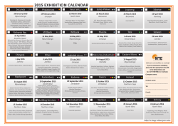 Download 2015 calendar as pdf