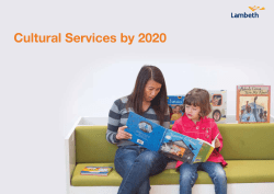 Cultural services by 2020 booklet