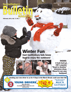 February 2015 - The Bulletin Magazine