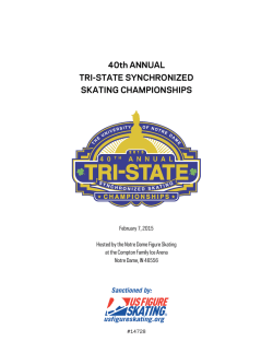 Tri-State Announcement - Notre Dame Figure Skating