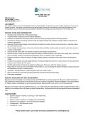 essential duties and responsibilities