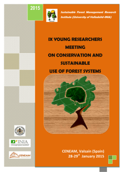 vii young researchers meeting on conservation and sustainable use