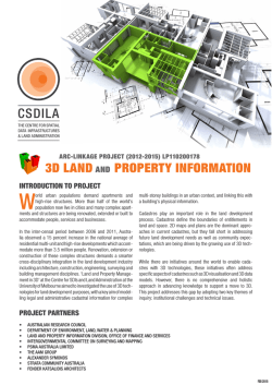3d land and property information csdila