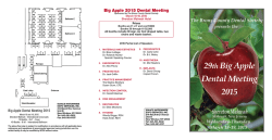 View Exhibitor Prospectus - The Big Apple Dental Meeting