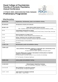 to view the Preliminary Programme