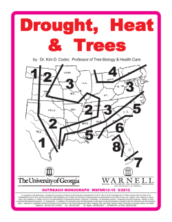 Drought Manual pub 12-10 - Warnell School of Forest Resources