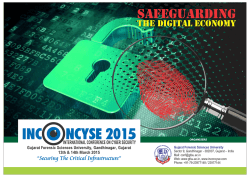 INC NCYSE 2015 O - International Conference on Cyber Security