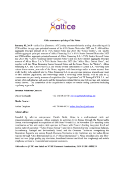 About Altice