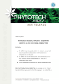 phytotech medical appoints dr daphna heffetz as