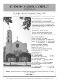 ST. JOSEPH CATHOLIC CHURCH - E