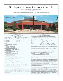 St. Agnes Roman Catholic Church - John Patrick Publishing Company