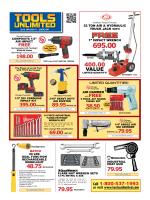 Tools Sales Flyer - ToolsUnlimited.com