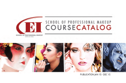 Catalog - EI, School of Professional Makeup
