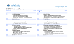 to download the Advanced Training agenda