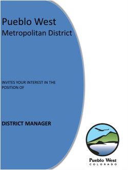 Pueblo West Metropolitan District