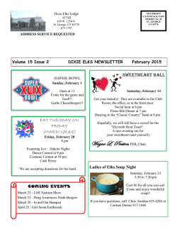 Newsletter - Elks Lodge 1743