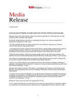 full media release here (Opens in new window)