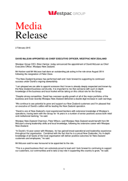 full media release here (Opens in new window)