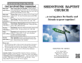 program - Shenstone Baptist Church