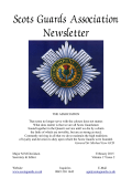 Scots Guards Association Newsletter