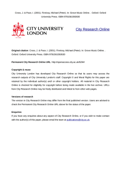 Download (189kB) - City Research Online