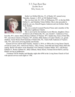 2015 Printable Obituaries