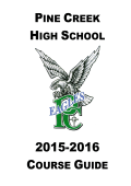 pine creek high school course guide