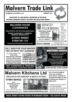 Malvern Trade Link - eBrochures For Everyone